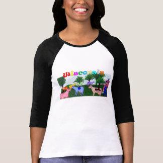 Wisconsin Cows Tshirts