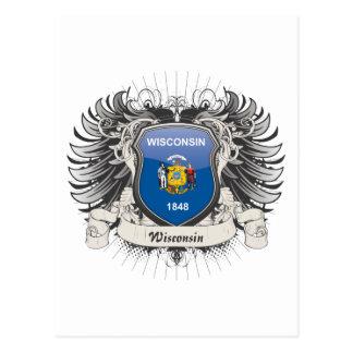 Wisconsin Crest Postcard