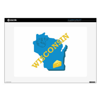 Wisconsin Decals For Laptops