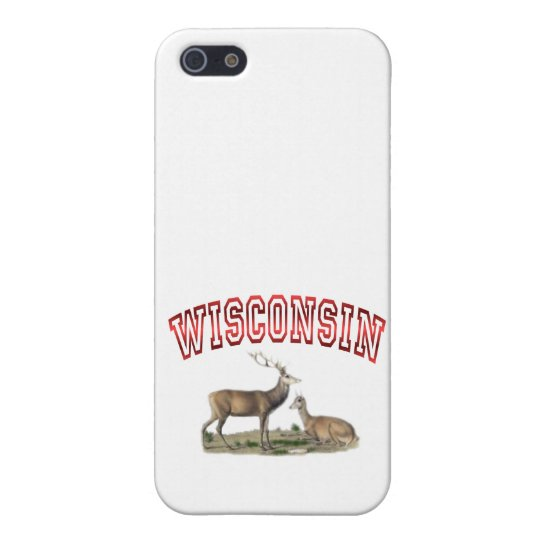 Wisconsin deer scene case for iPhone SE/5/5s