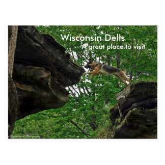 Wisconsin Dells, A great place ... Postcard
