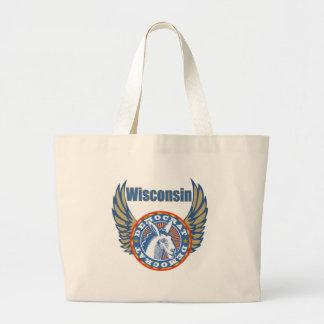 Wisconsin Democrat Party Tote Bag