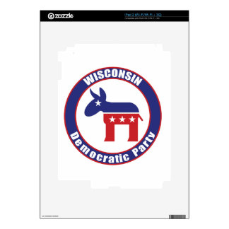 Wisconsin Democratic Party Skins For iPad 2