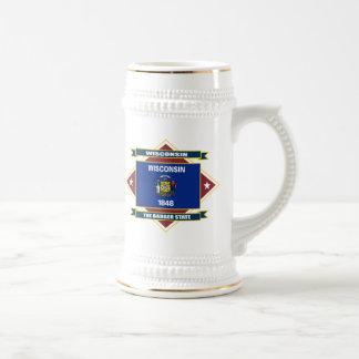 Wisconsin Diamond Coffee Mugs