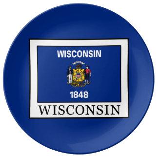 Wisconsin Dinner Plate