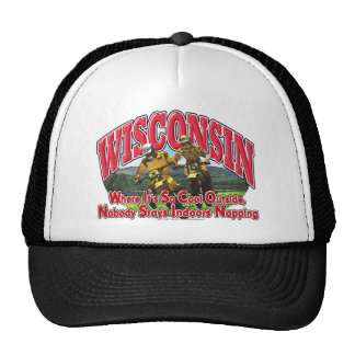 Wisconsin Dirt Bike Trucker Hat
