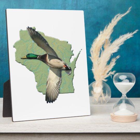 Wisconsin duck Plaque (3) sizes