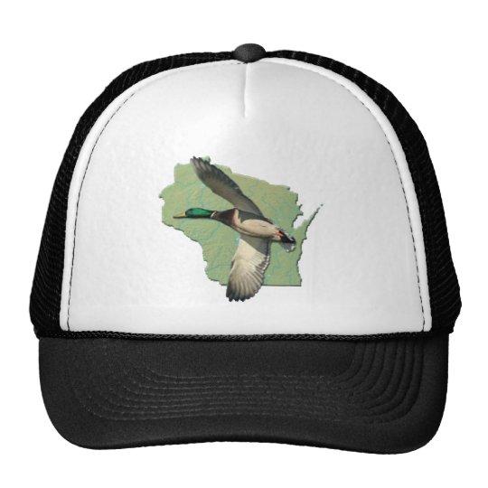Wisconsin duck trucker hat