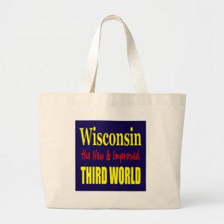 Wisconsin el TERCER MUNDO nuevo y mejorado Bolsas De Mano