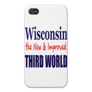 Wisconsin el TERCER MUNDO nuevo y mejorado iPhone 4 Cárcasas