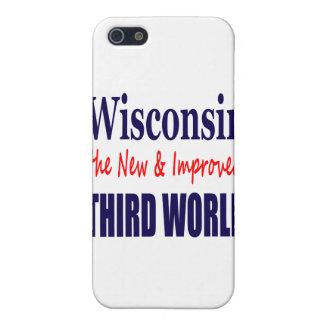 Wisconsin el TERCER MUNDO nuevo y mejorado iPhone 5 Cárcasas