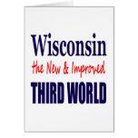 Wisconsin el TERCER MUNDO nuevo y mejorado Felicitaciones