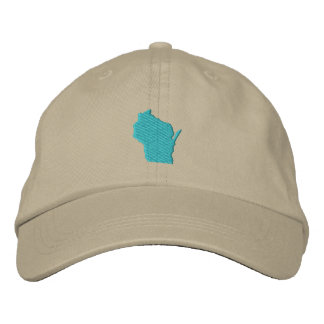 Wisconsin Embroidered Baseball Cap