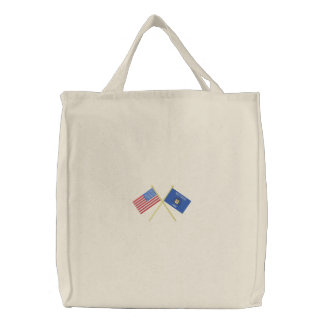 Wisconsin Embroidered Tote Bag