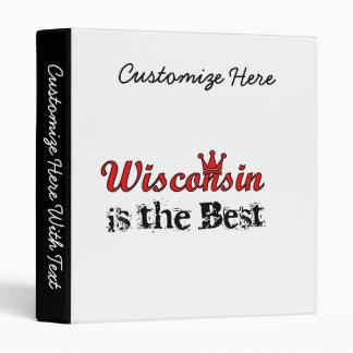 """Wisconsin es el mejor carpeta 1"""""""