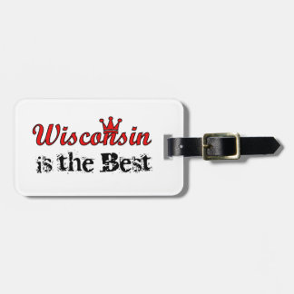 Wisconsin es el mejor etiqueta de equipaje
