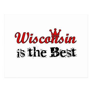 Wisconsin es el mejor postal