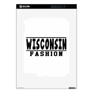 Wisconsin Fashion Designs Skins For The iPad 2