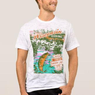Wisconsin Fishing T-Shirt
