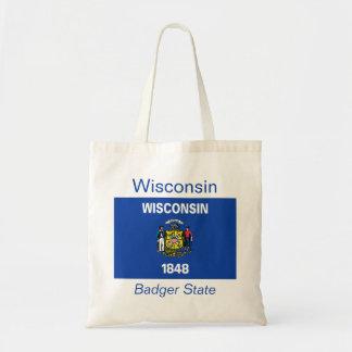 Wisconsin Flag Bag