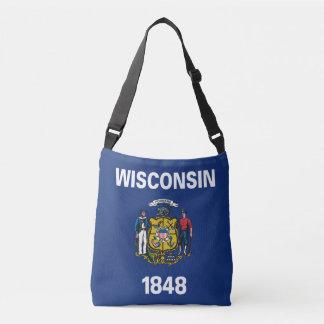 WISCONSIN Flag Design - Crossbody Bag