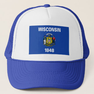 Wisconsin Flag Hat