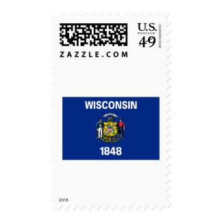 Wisconsin FLAG International Stamp