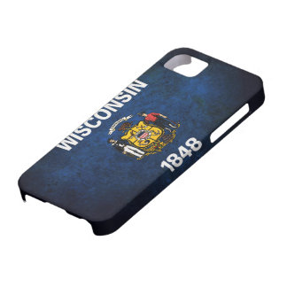 Wisconsin Flag iPhone SE/5/5s Case