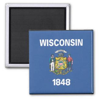 WISCONSIN FLAG MAGNET