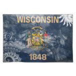 Wisconsin Flag Place Mat