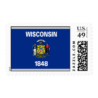 Wisconsin Flag Stamps