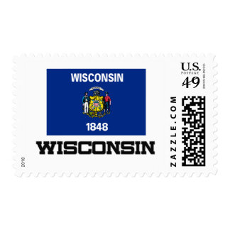 Wisconsin Flag Stamp