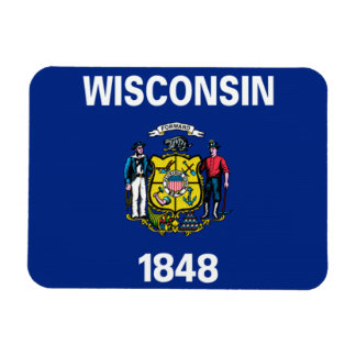 Wisconsin Flag Magnets
