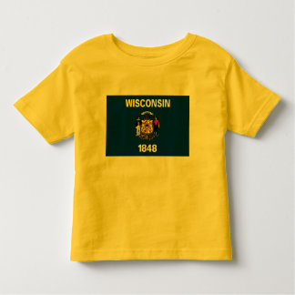 Wisconsin Flag T Shirts