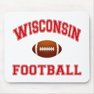 WISCONSIN FOOTBALL MOUSE PAD