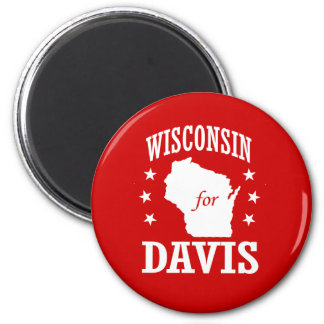 WISCONSIN FOR FIORINA 2 INCH ROUND MAGNET