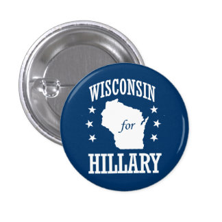 WISCONSIN FOR HILLARY BUTTON