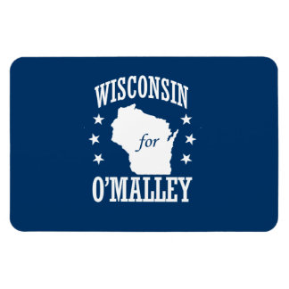 WISCONSIN FOR O'MALLEY RECTANGULAR PHOTO MAGNET