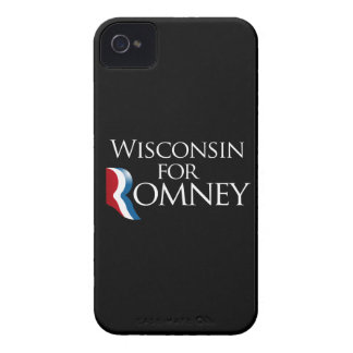 Wisconsin for Romney -.png iPhone 4 Case-Mate Cases