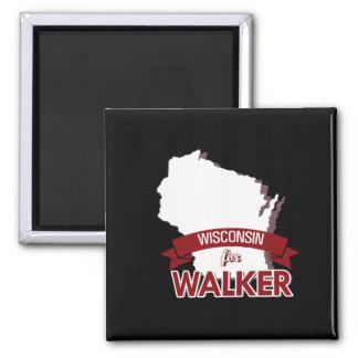 Wisconsin for Scott Walker 2016 2 Inch Square Magnet