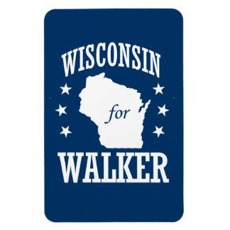 WISCONSIN FOR SCOTT WALKER RECTANGULAR PHOTO MAGNET