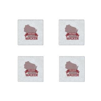 Wisconsin for Walker 2016 Stone Magnet