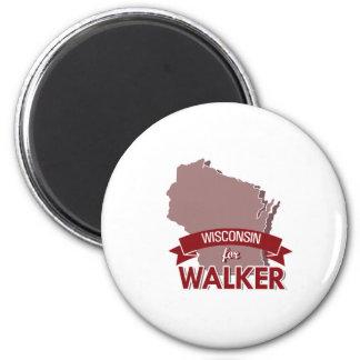 Wisconsin for Walker 2016 2 Inch Round Magnet