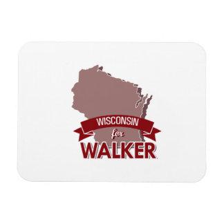 Wisconsin for Walker 2016 Rectangular Photo Magnet