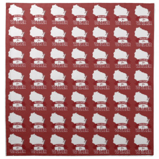Wisconsin for Walker - Election 2016 - white.png Napkins