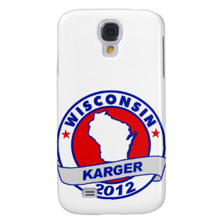 Wisconsin Fred Karger Galaxy S4 Covers