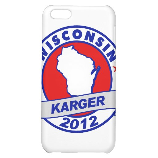 Wisconsin Fred Karger Cover For iPhone 5C
