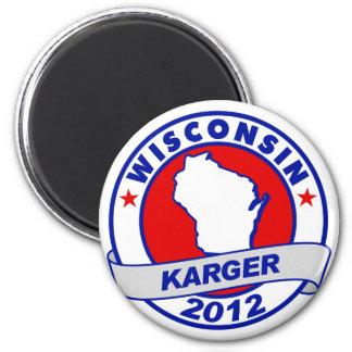 Wisconsin Fred Karger Magnet