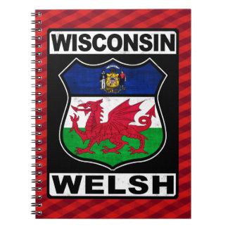 Wisconsin Galés Americah Cuaderno
