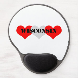 Wisconsin Gel Mouse Pad